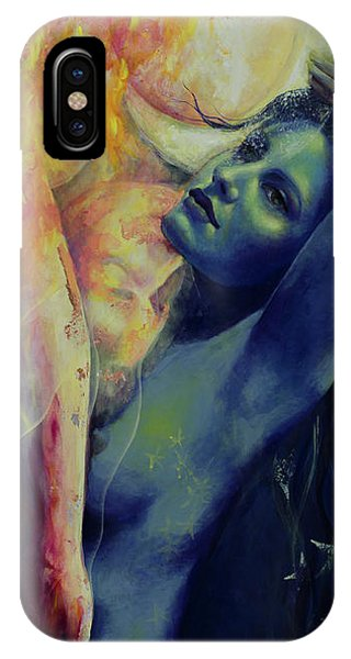Illusion iPhone Case - Illusion In The Mirror by Dorina  Costras