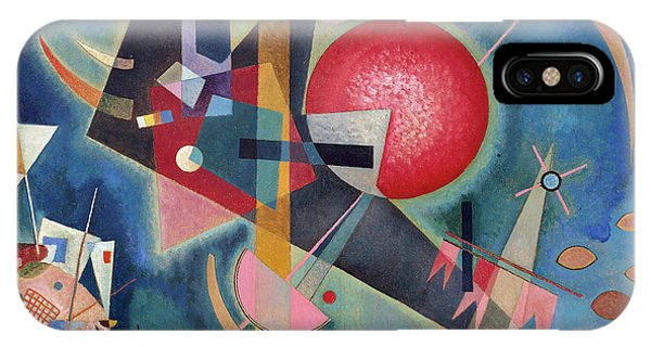 Russian Impressionism iPhone Case - Im Blau by Wassily Kandinsky