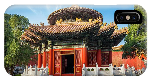 Forbidden City iPhone Case - Imperial Garden by Inge Johnsson