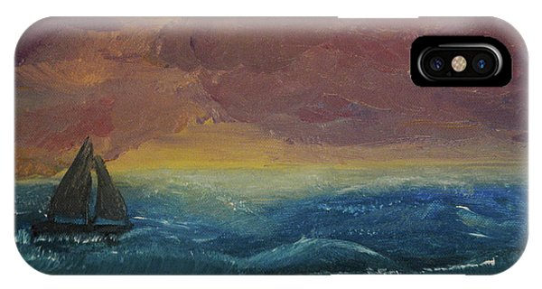 Impressions Of The Sea IPhone Case