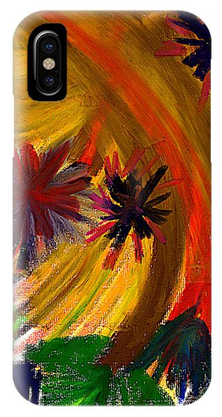 IPhone Case featuring the pastel Improvisation #74 by Bee-Bee Deigner