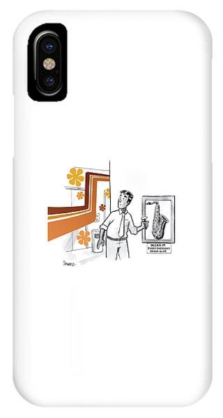 In Case Of Funky Emergency Break Glass IPhone Case