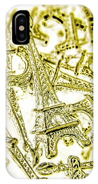 Metal iPhone Case - In French Forms by Jorgo Photography - Wall Art Gallery