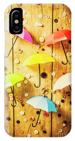Parasol iPhone Case - In Rainy Fashion by Jorgo Photography - Wall Art Gallery