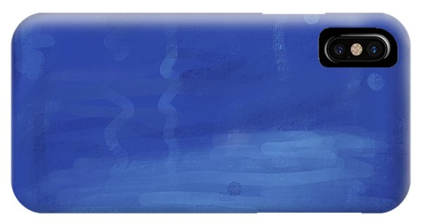 In The Blue Water IPhone Case