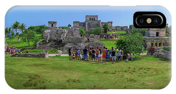 In The Footsteps Of The Maya IPhone Case