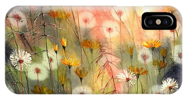Perfume iPhone Case - In The Morning Haze by Suzann Sines