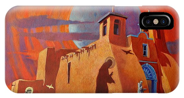 In The Shadow Of St. Francis IPhone Case