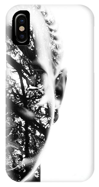 Garden Wall iPhone Case - In Vision by Jorgo Photography - Wall Art Gallery