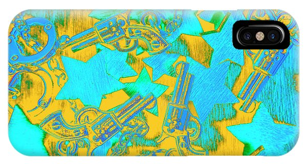 Art Cow iPhone Case - In Wild West Patterns by Jorgo Photography - Wall Art Gallery