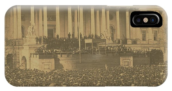 Inauguration Of Abraham Lincoln, March 4, 1861 IPhone Case