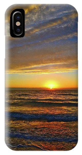 IPhone Case featuring the photograph Incredible Sunrise Over The Atlantic Ocean by Lynn Bauer