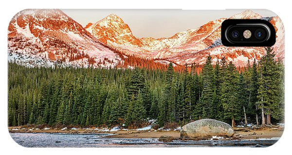 Indian Peaks Wilderness iPhone Case - Indian Peaks Sunrise by Eric Glaser