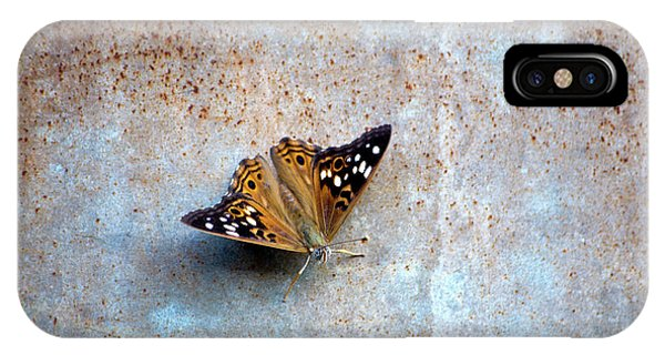 Industrious Butterfly IPhone Case