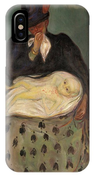 Anima iPhone Case - Inheritance - Digital Remastered Edition by Edvard Munch