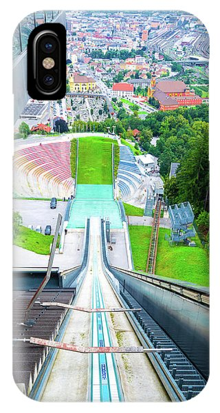 Innsbruck Ski Slope IPhone Case