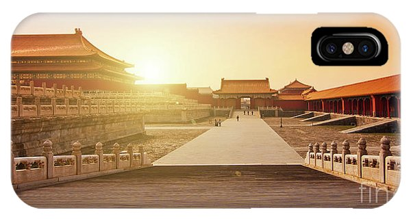 Forbidden City iPhone Case - Inside The Forbidden City by Delphimages Photo Creations