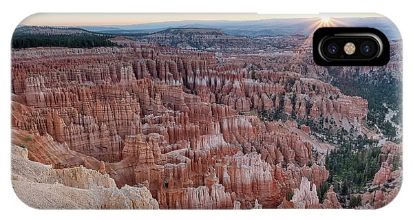 Inspiration Point Sunrise Bryce Canyon National Park Summer Solstice IPhone Case