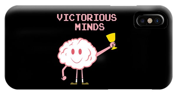 Sports Clothing iPhone Case - Inspirational Victorious Tee Design Victorious Mind by Roland Andres