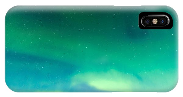 Space iPhone Case - Intense Northern Lights Or Aurora by Pi-lens