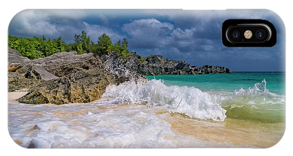Carribbean iPhone Case - Intriguing Coastal View by Betsy Knapp