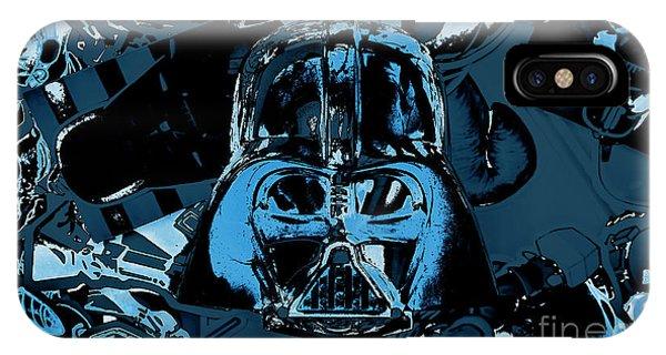 Dark Blue iPhone Case - Invader by Jorgo Photography - Wall Art Gallery