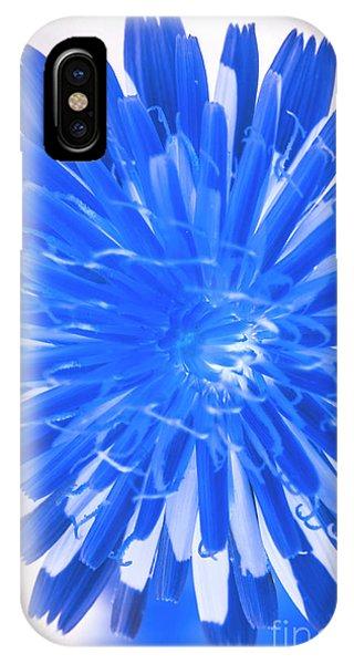 Closeup iPhone Case - Inverse Flower Art by Jorgo Photography - Wall Art Gallery