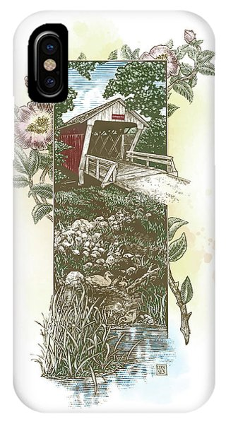 Iowa Covered Bridge IPhone Case
