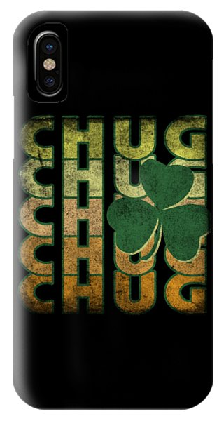 St. Patricks Day iPhone Case - Irish Chug Vintage by Flippin Sweet Gear