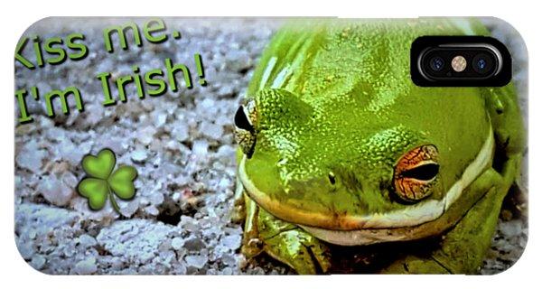 Irish Frog IPhone Case