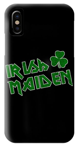 St. Patricks Day iPhone Case - Irish Maiden Vintage by Flippin Sweet Gear