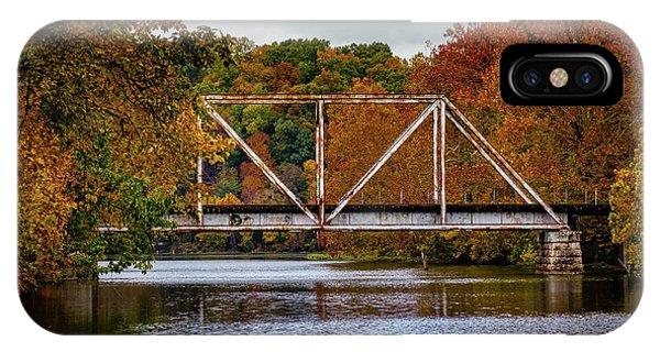 IPhone Case featuring the photograph Iron Bridge by Allin Sorenson