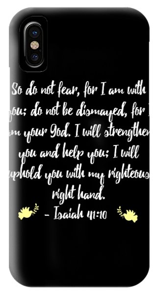 Isaiah 4110 Bible IPhone Case