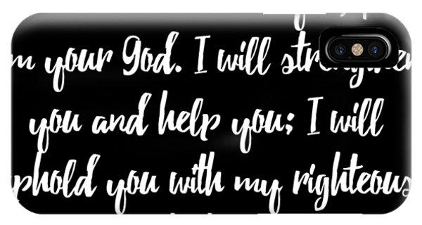Isaiah 4110 Bible IPhone Case