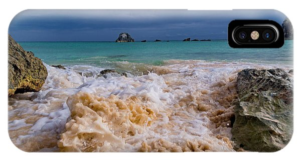 Carribbean iPhone Case - Island Paradise Rushing Water by Betsy Knapp