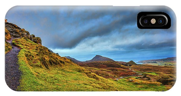 Isle Of Skye Landscape #i1 IPhone Case