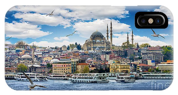 Dome iPhone Case - Istanbul The Capital Of Turkey, Eastern by Seqoya