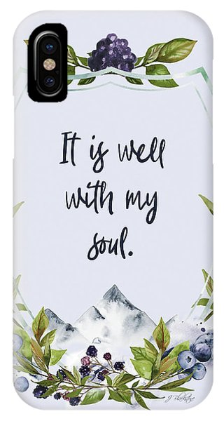 It Is Well With My Soul - Kindness IPhone Case
