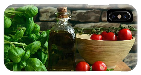 Italian Ingredients IPhone Case