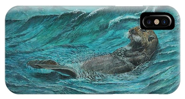 It's My Otter Day Off.....sea Otter IPhone Case