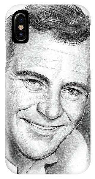 Jack iPhone Case - Jack Lemmon by Greg Joens