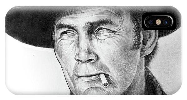 Jack iPhone Case - Jack Palance by Greg Joens
