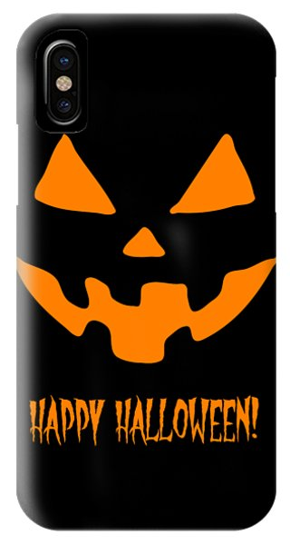 Jackolantern Happy Halloween Pumpkin IPhone Case