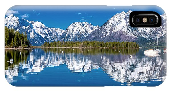 Jackson Lake IPhone Case