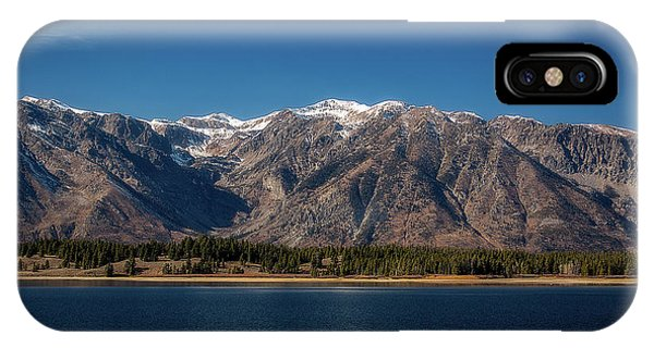 Jackson Lake Wyoming IPhone Case