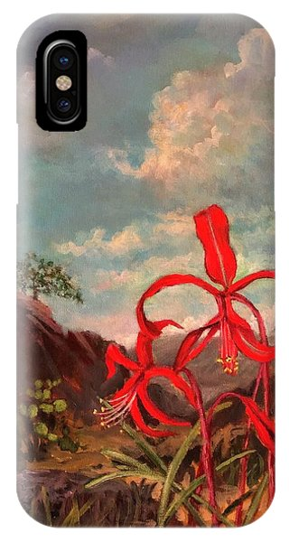 Jacobean Lily Of Mexico IPhone Case