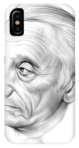 Discovery iPhone Case - Jacques-yves Cousteau by Greg Joens
