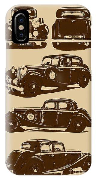 Vehicles iPhone Case - Jaguar Mark Iv Ss 2.5 Saloon by Jorgo Photography - Wall Art Gallery
