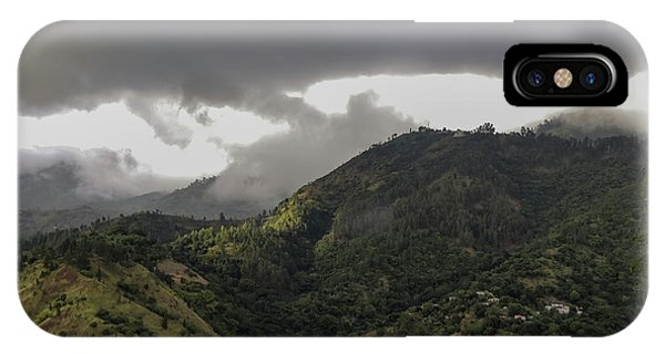 Jamaican Blue Mountains IPhone Case