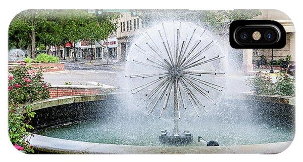 James Brown Blvd Fountain - Augusta Ga IPhone Case